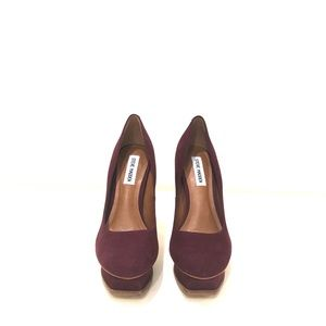 Steve Madden heels (8M), color is Wine